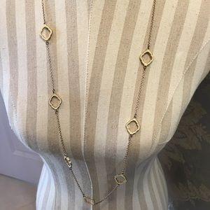 Long Fleur Necklace